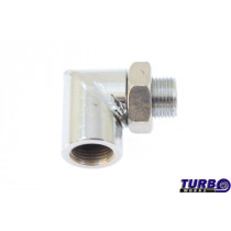 O2 szenzor adapter TurboWorks 90 fok M18x1,5